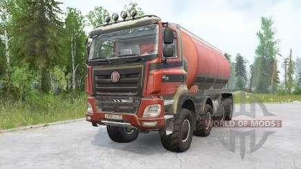 Tatra Phoenix T158 8x8 v1.1 for MudRunner