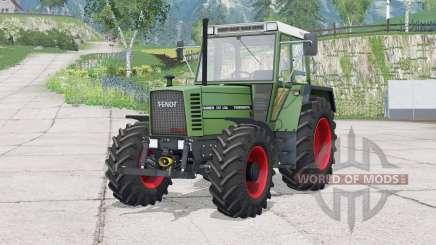 Fendt Farmer 310 LSA Turbomatik〡dynamic exhaust for Farming Simulator 2015