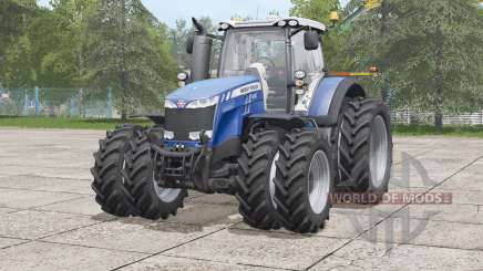 Massey Ferguson 8700 series〡narrow twin tire set for Farming Simulator 2017