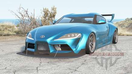 Toyota GR Supra Pandem (A90) 2020 for BeamNG Drive