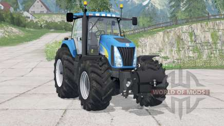 New Holland TG285〡includes front weight for Farming Simulator 2015