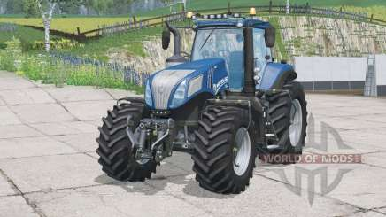 New Holland T8.435〡more lights for Farming Simulator 2015