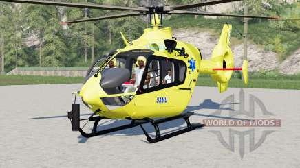 Eurocopter EC145 SAMU for Farming Simulator 2017