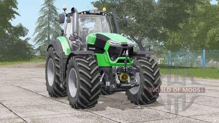 Deutz-Fahr Serie 9 TTV Agrotron〡interior animated for Farming Simulator 2017