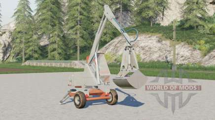 Cyklop T-214〡with or without cab for Farming Simulator 2017