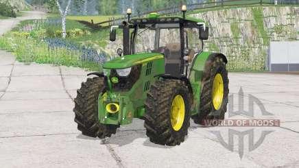 John Deere 6170R〡bonnet opens for Farming Simulator 2015