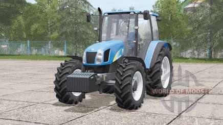 New Holland T5000 series〡front hydraulic or weight for Farming Simulator 2017