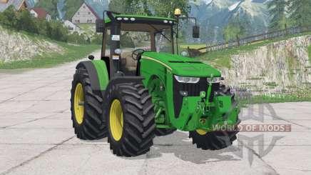 John Deere 8370R〡new driving physics for Farming Simulator 2015