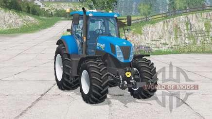 New Holland T7.270〡folding steering column for Farming Simulator 2015