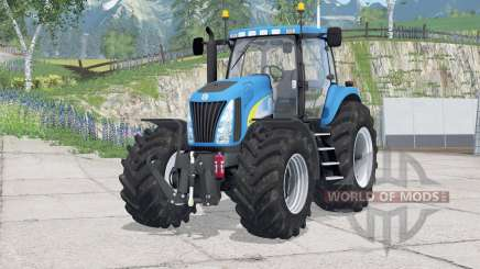 New Holland TG285〡digital speedometer for Farming Simulator 2015