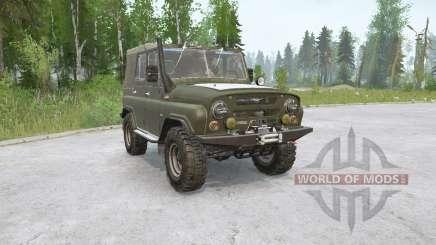 UAZ-469〡5 variants for MudRunner