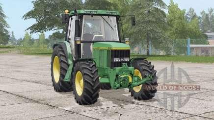 John Deere 6000 series〡different fender configurations for Farming Simulator 2017