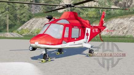 Agusta A.109 K2 Air Ambulance for Farming Simulator 2017