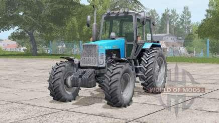 MTZ-1221 Belarus〡movable front axle for Farming Simulator 2017