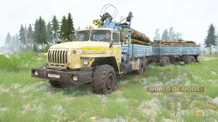 Ural-4320-40 v3.0 for MudRunner
