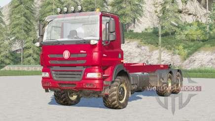 Tatra Phoenix T158 6x6 Hooklift〡сolour selection for Farming Simulator 2017