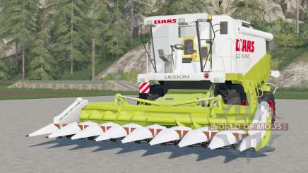 Claas Lexion 460〡working animations for Farming Simulator 2017