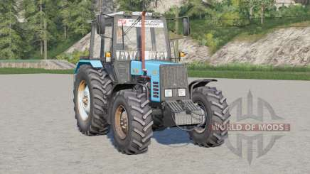 MTZ-892.2 Belarus〡adjustable hitch for Farming Simulator 2017