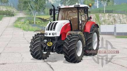 Steyr 6230 CVT〡dynamic exhaust for Farming Simulator 2015