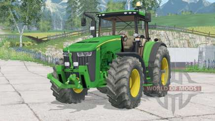 John Deere 8370R〡folding front hitch for Farming Simulator 2015