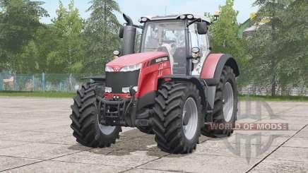 Massey Ferguson 8700 serieꞩ for Farming Simulator 2017