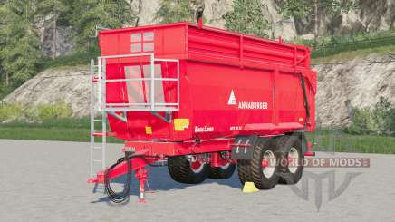 Annaburger HTS 20.12〡adjusted tare weight for Farming Simulator 2017