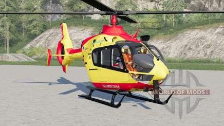 Eurocopter EC145 Securite Civile for Farming Simulator 2017