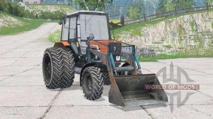 MTZ-82.1 Belarus 41s front loaderᴍ for Farming Simulator 2015