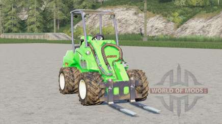 Avant 750〡with different tools for Farming Simulator 2017