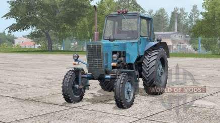 MTZ-80 Belarus〡bonnet opens for Farming Simulator 2017
