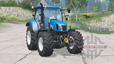 New Holland T6.160〡folding front linkage for Farming Simulator 2015