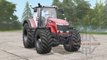 Massey Ferguson 8700 series〡animated seat suspension for Farming Simulator 2017