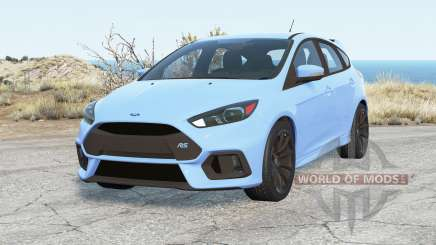 Ford Focus RS (DA3) 2016 v3.0 for BeamNG Drive