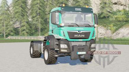 MAN TGS 18.460 Middle Cab AgroTruck for Farming Simulator 2017