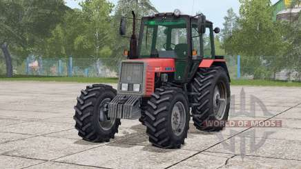 MTZ-820 Belarus〡there are double wheels for Farming Simulator 2017