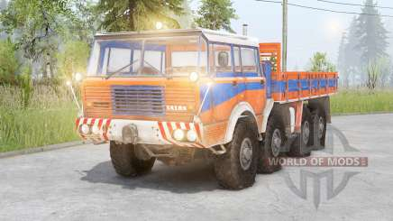 Tatra T813 8x8 for Spin Tires