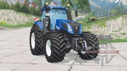 New Holland T8.420〡dynamic smoke for Farming Simulator 2015