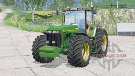 John Deere 8400〡folding steering column for Farming Simulator 2015