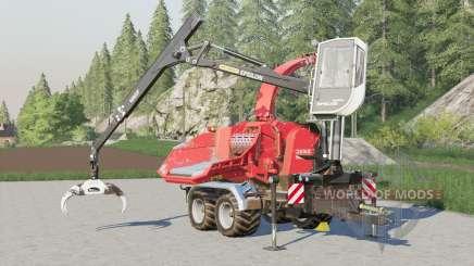 Jenz HEM 583 Z〡ajusted arm controls for Farming Simulator 2017