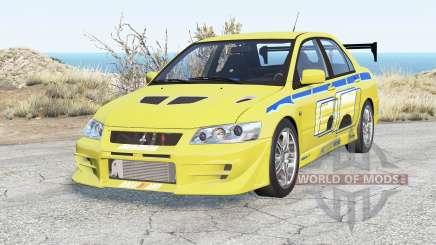 Mitsubishi Lancer Evolution VII 2 Fast 2 Furious for BeamNG Drive