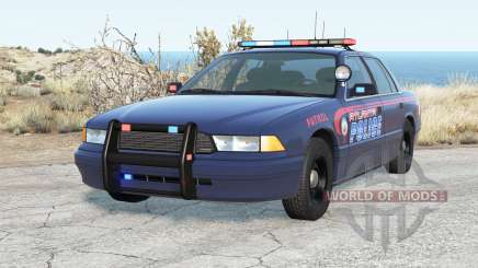 Gavril Grand Marshall Atlanta Police for BeamNG Drive