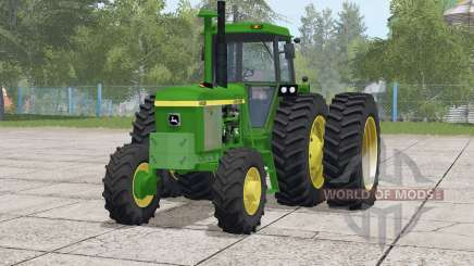 John Deere 4030 series〡includes front weight for Farming Simulator 2017