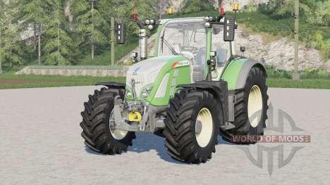 Fendt 700 Vario〡wheel configurations for Farming Simulator 2017