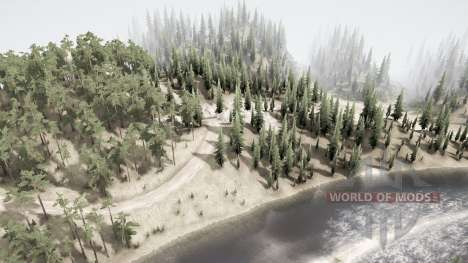 Seven Road Intersection 2 for Spintires MudRunner