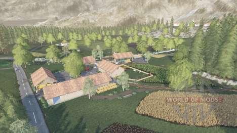 The Hills Of Slovenia v1.0.0.2 for Farming Simulator 2017