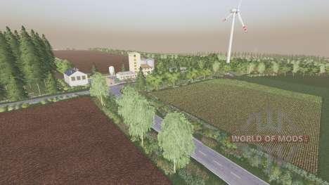 Central Germany v1.7.1.3 for Farming Simulator 2017
