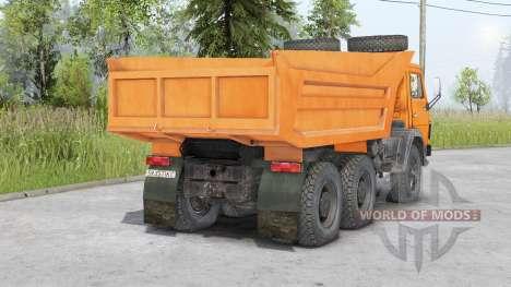 KamAZ-5511 v1.1 for Spin Tires
