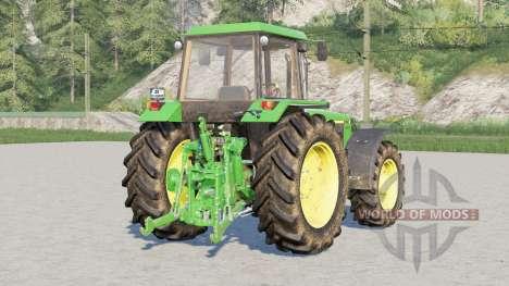 John Deere 3050 series〡wheels selection for Farming Simulator 2017