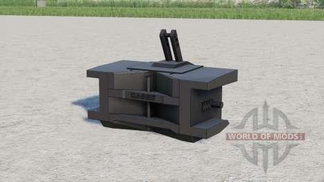 Case IH weight 1000 kg. for Farming Simulator 2017