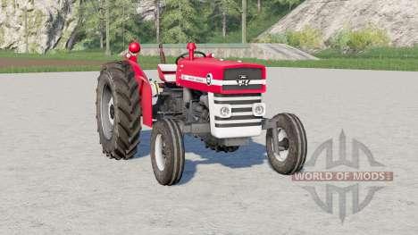 Massey Ferguson 135〡movable front axle for Farming Simulator 2017